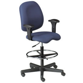 Fabric Contoured Ergonomic Stool, C80299