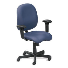 Vinyl Ergonomic Task Chair, C80402