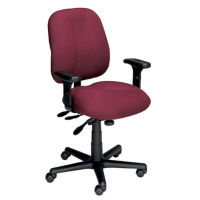 Ergonomic Chair with Arms, D50018