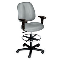Ergonomic Stool with Arms, D50020