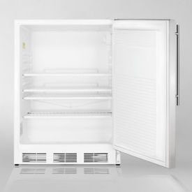 Stainless Steel Door Refrigerator - 5.5 Cubic Ft, V21614