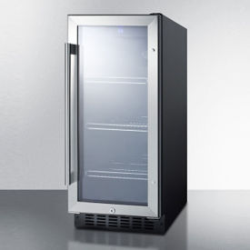 Slim Glass Door Refrigerator - 3 Cubic Ft, V21619