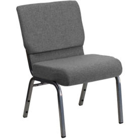 "Fabric Wing-Back Church Chair - 21.25""W, C30164"