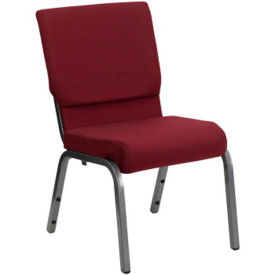 "Fabric Wing-Back Church Chair - 18.5""W, C30166"