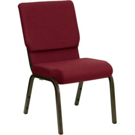 "Fabric Wing-Back Church Chair - 18.5""W, C30167"