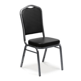 Crown Stack Chair in Vinyl, C60051