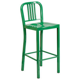 "Metal Bar Stool - 42""H, K10076"