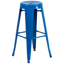 "Backless Cafe Height Stool - 30""H, K10096"