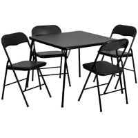 Square Folding Table with Four Folding Chairs, T10408