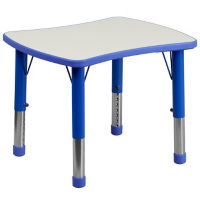"Child Height Rectangular Activity Table - 14.5"" - 23.50""H, T11831"