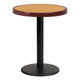 "24"" Round Standard Height Table with Round Base , T11835"