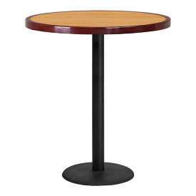 "36"" Round Bar Height Table with Round Base, T11869"