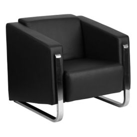 "Sled Base Reception Chair - 33""W, W60043"