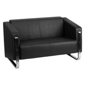 """Sled Base Reception Chair - 54""""W, W60044"""