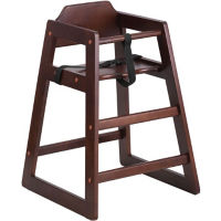 Wood Baby High Chair, P30020