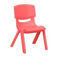 "Plastic 10.5""H Armless Stack Chair, C70046"