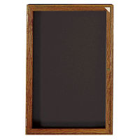 "Walnut Frame Indoor Directory Board 36""x36"", B20650"
