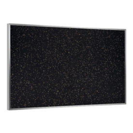 4' x 4' Recycled Rubber Bulletin Board, B23130