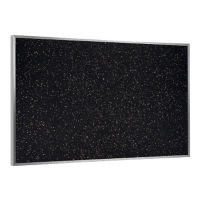 10' x 4' Recycled Rubber Bulletin Board, B23134