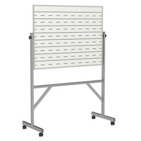 Reversible Whiteboard with Penmanship Lines and Blade Tray - 3' x 4', B23285