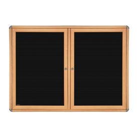 """Two Door Letterboard - 47"""" x 34"""", B23293"""