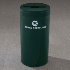 "Mixed Recycling Unit with Paint Finish 20"" Diameter, R20089"