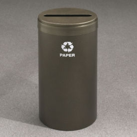 "Paper Recycling Unit with Paint Finish 15"" Diameter, R20093"