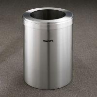 """Waste Unit in Satin Aluminum Finish 15"""" Diameter, R20104"""
