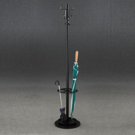 "Umbrella Stand Base Coat Tree- 69""H, V20027"