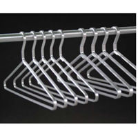 "Set of 6 Open Loop Hangers 5/16"" Thick, W60143"