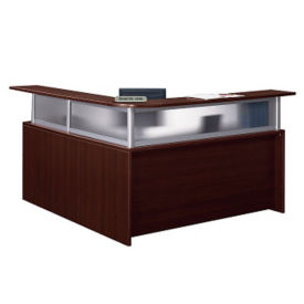 Reception L Desk with Right Return, W60546