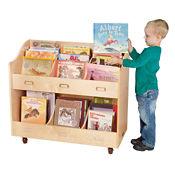 "Mobile Book Organizer - 16""W x 36""D, B34573"