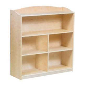 """Four Shelf Bookshelf with Optional Dividers - 36""""H, B34578"""
