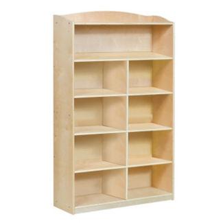 "Six Shelf Bookshelf with Optional Dividers - 60""H, B34579"