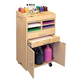 "Mobile Storage Center - 38""H, B34587"