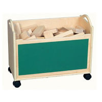 Block Cart with Chalkboard, V21593