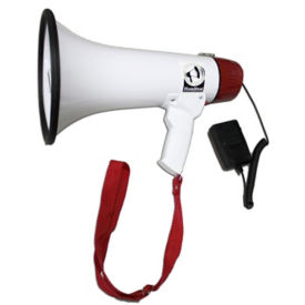 15W Megaphone with Mic and Voice Record/Playback, M10360