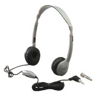 Mono/Stereo Headphones with Inline Volume Control, M10365