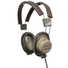 Deluxe Over Ear Stereo Headphones, M10370