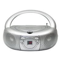 CD Player with AM/FM Radio, M16368