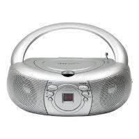 CD Player with AM/FM Radio, M16368