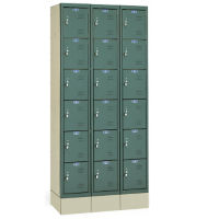 "Box Lockers Assembled 12"" W x 15"" D x 12"" H, B30162"