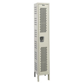 """Assembled 1-Tier Ventilated Locker 15"""" W x 21"""" D, B34217"""