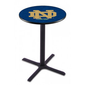 "College Logo X-Base Table - 28""DIA x 36""H, T11661"