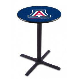 "College Logo X-Base Table - 28""DIA x 42""H, T11663"