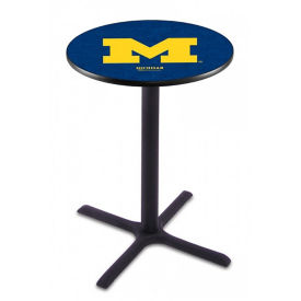 "College Logo X-Base Table - 36""DIA x 42""H, T11664"