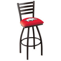 "College Logo Ladder-Backed Stool-30""H, C80483"