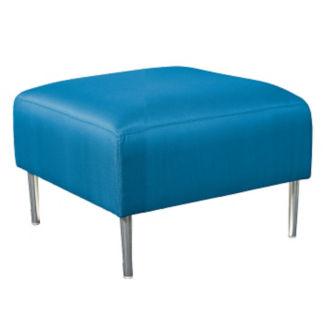 One Seat Solid Fabric Bench, W60872
