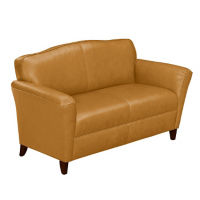 Leather Loveseat, W60006