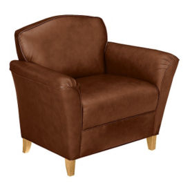 Leather Club Chair , W60007